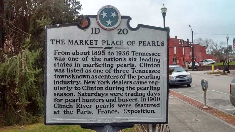 The Market Place of Pearls Marker image. Click for full size.