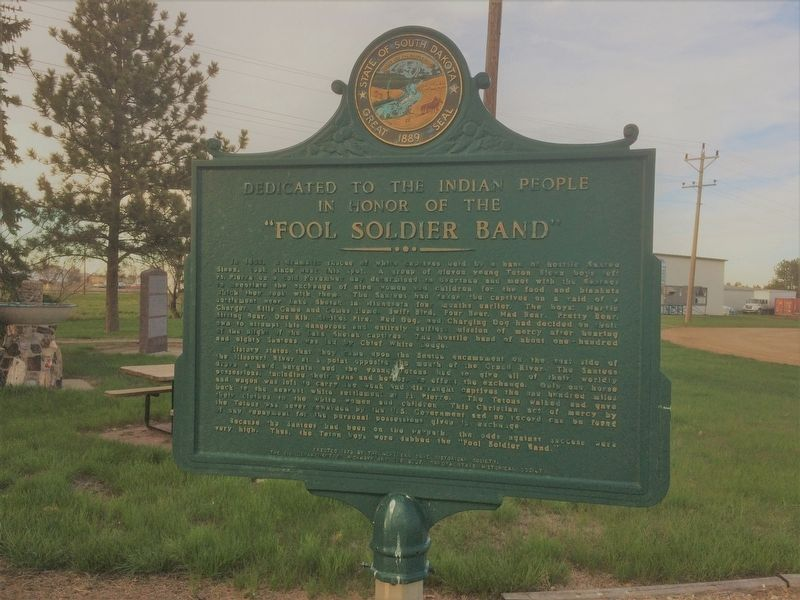 """Fool Soldier Band"" Marker image. Click for full size."