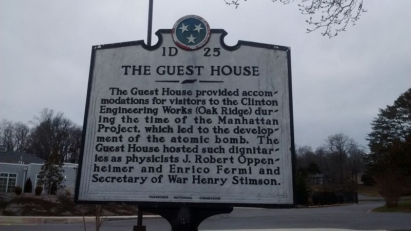 The Guest House Marker image. Click for full size.