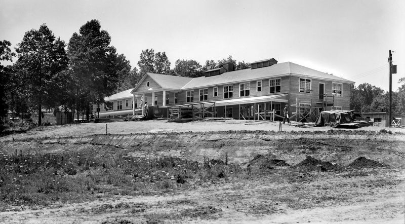 Construction of The Guest House image. Click for full size.
