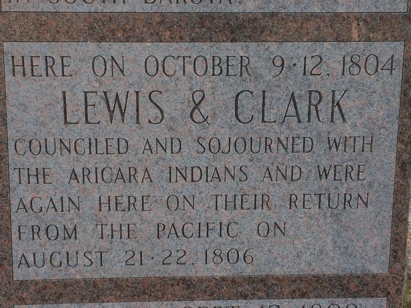 Lewis & Clark Marker image. Click for full size.