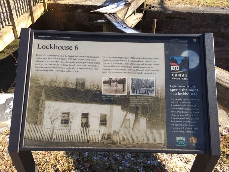 Lockhouse 6 Marker image. Click for full size.