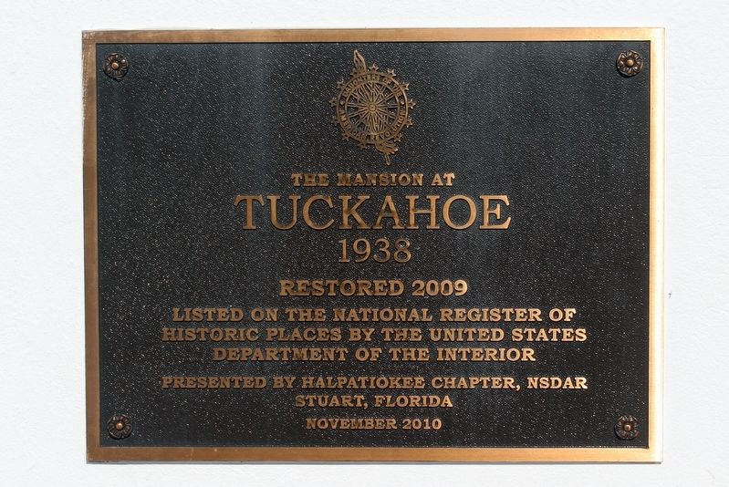 Tuckahoe Marker image. Click for full size.