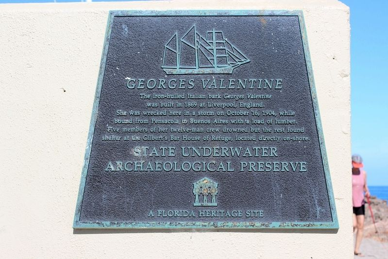 Georges Valentine Marker image. Click for full size.
