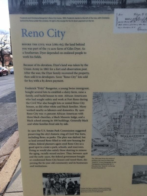 Reno City Marker image. Click for full size.