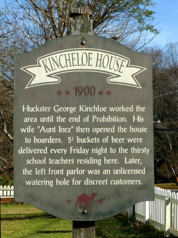 Kincheloe House Marker image. Click for full size.