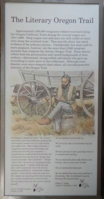 The Literary Oregon Trail panel image. Click for full size.