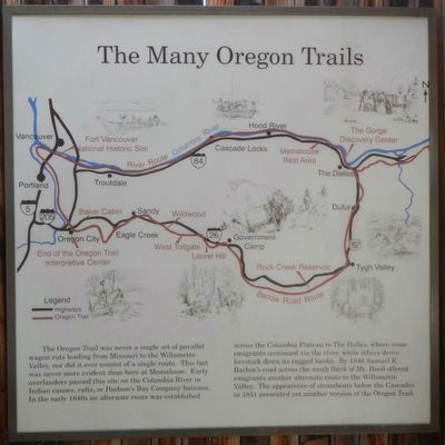 The Many Oregon Trails panel image. Click for full size.