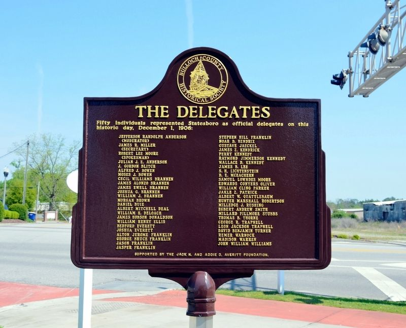 The Delegates Marker (Side 2) image. Click for full size.