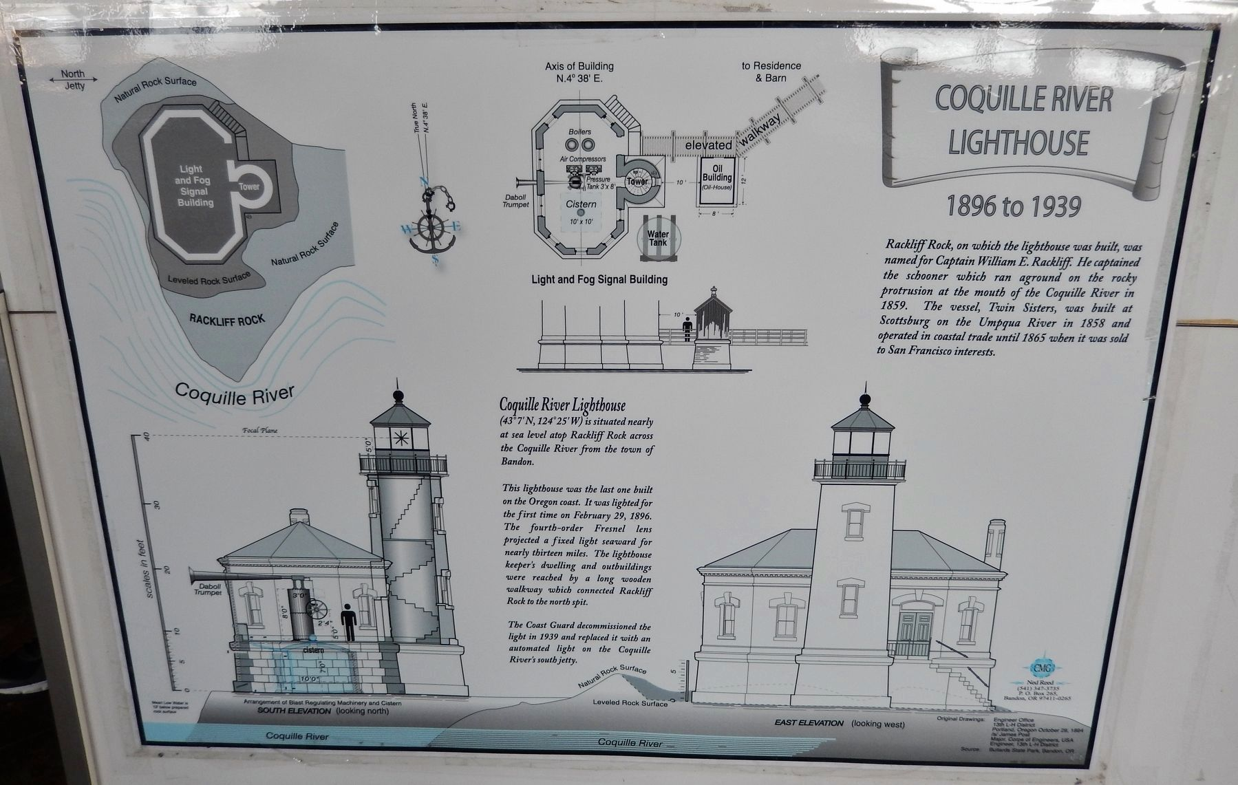 Lighthouse Architecture Exhibit image. Click for full size.