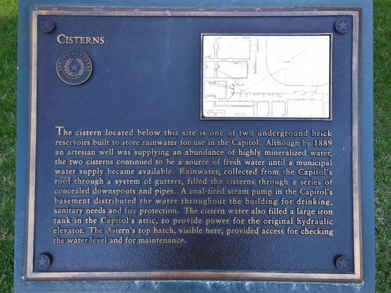 Cisterns Marker image. Click for full size.