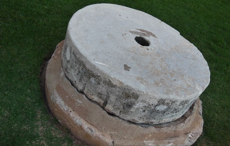 Cistern Top Hatch (<i>near marker</i>) image. Click for full size.
