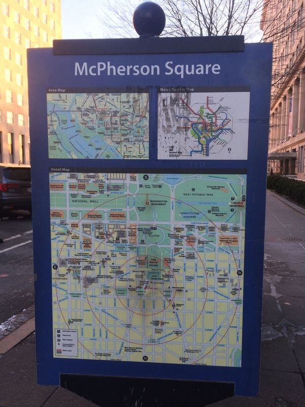 Discover DC / McPherson Square Marker image. Click for full size.