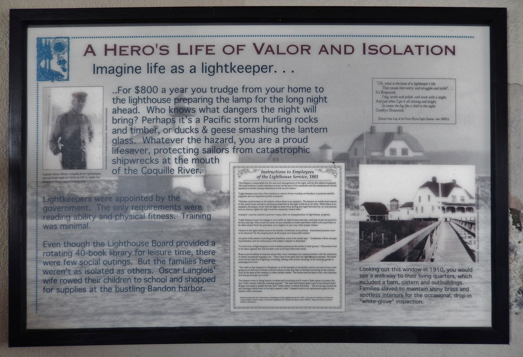 Lighthouse Valor Exhibit image. Click for full size.
