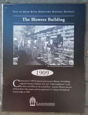 The Blowers Building Marker image. Click for full size.