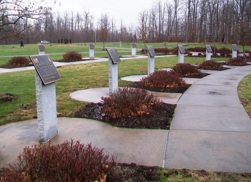 10th Mountain Division Heroes Walk Memorial Markers 1992-2002 image. Click for full size.