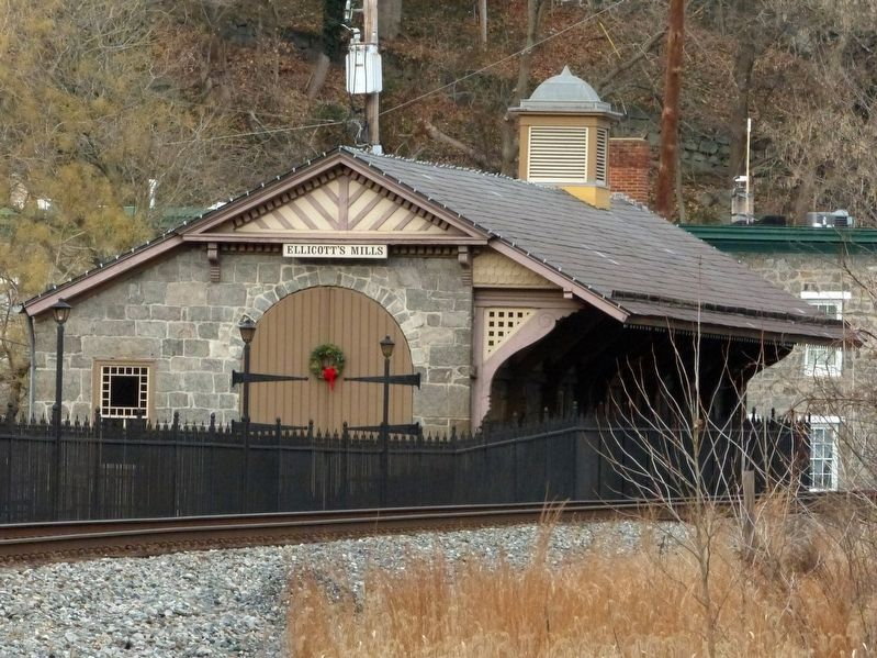 Ellicott City Station image. Click for full size.