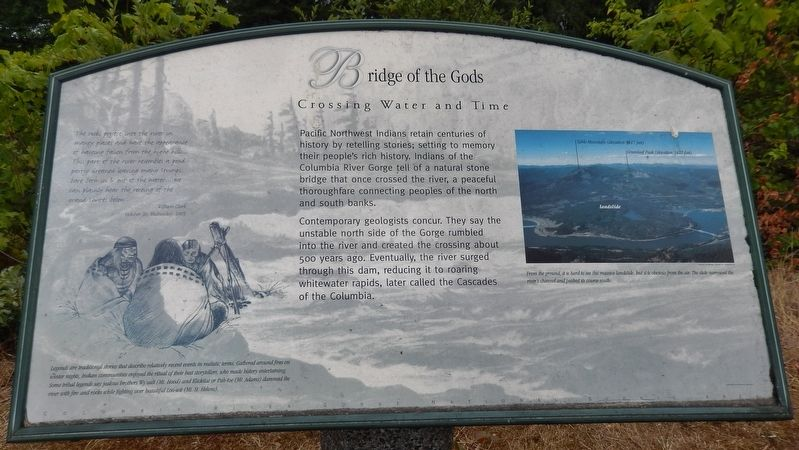 Bridge of the Gods Marker image. Click for full size.