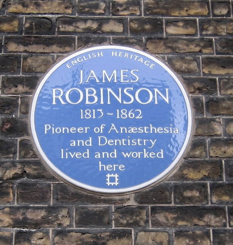 James Robinson Marker image. Click for full size.