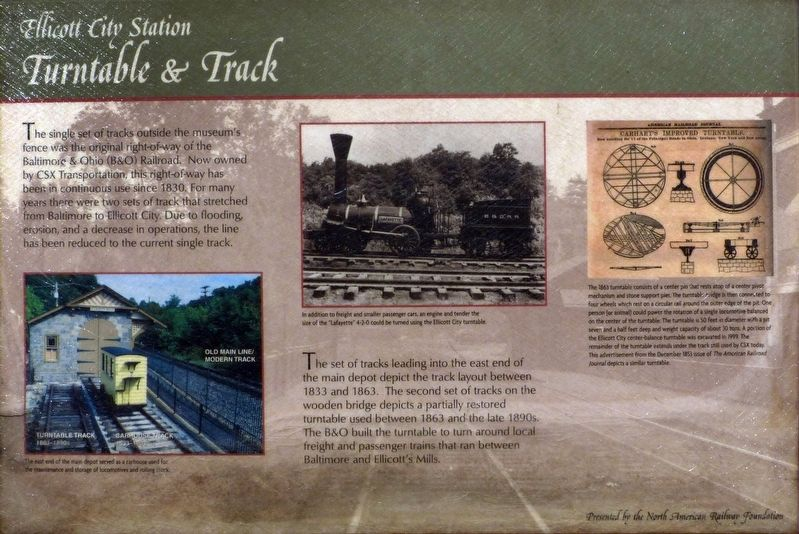 Turntable & Track Marker image. Click for full size.