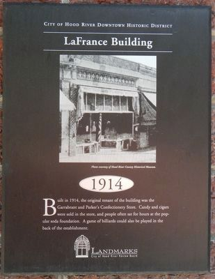 LaFrance Building Marker image. Click for full size.