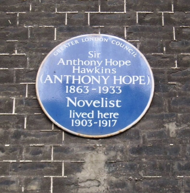 Anthony Hope Marker image. Click for full size.