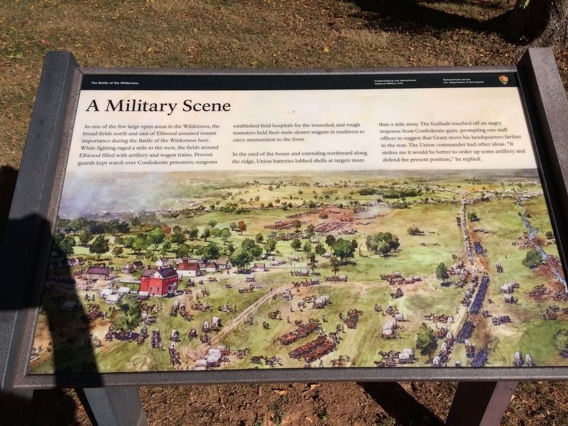 New A Military Scene Marker image. Click for full size.