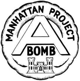 The Manhattan Project Insignia image. Click for full size.