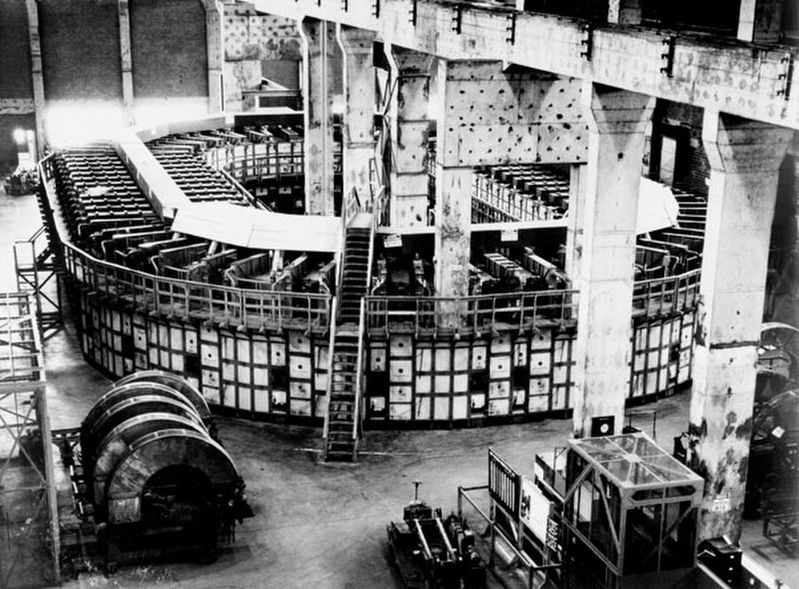 Y-12 – The Calutron Plant image. Click for full size.