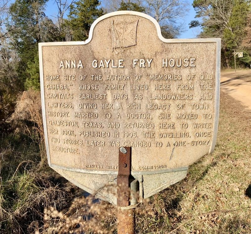 Anna Gayle Fry House Marker image. Click for full size.