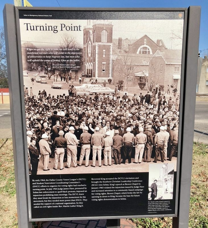 Turning Point Marker image. Click for full size.