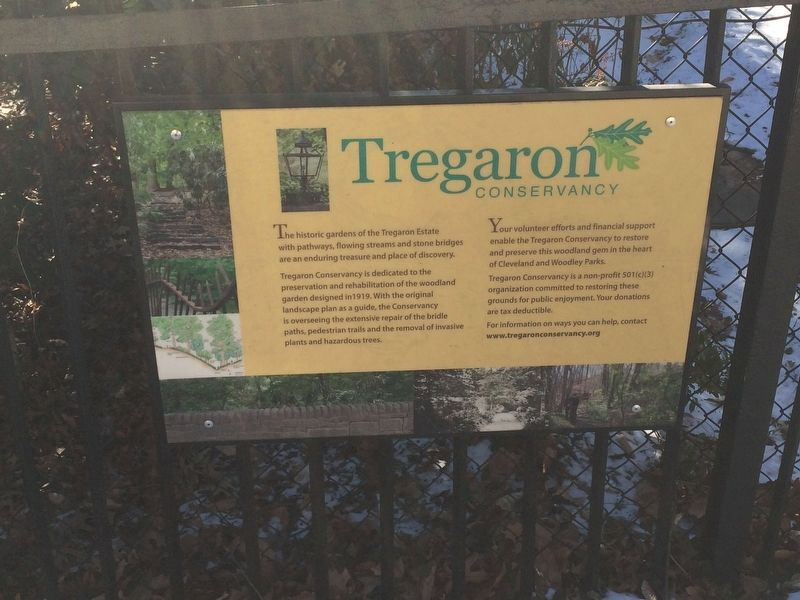 Tregaron Conservancy Marker image. Click for full size.