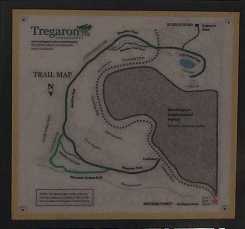 Map of Tregaron Conservancy image. Click for full size.