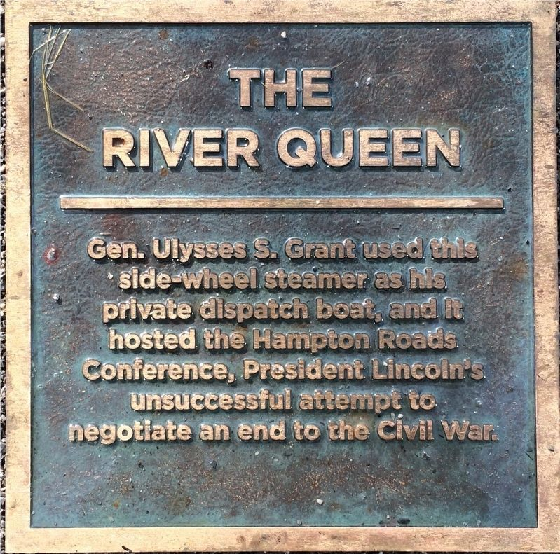 The River Queen Marker image. Click for full size.
