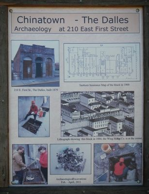 Archaeology at 210 East First Street image. Click for full size.