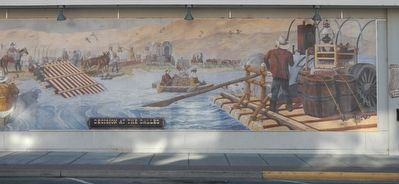 Decision at The Dalles Mural, right half image. Click for full size.