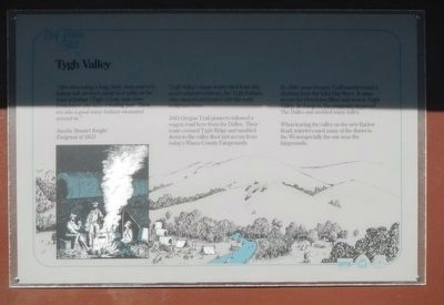 Tygh Valley Marker image. Click for full size.