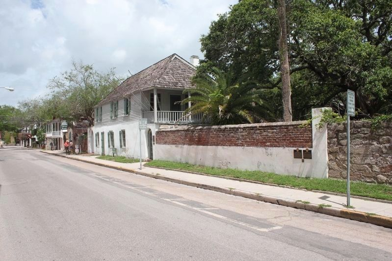 González-Alvarez House and Marker image. Click for full size.