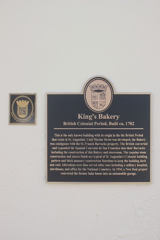 King's Bakery Marker image. Click for full size.