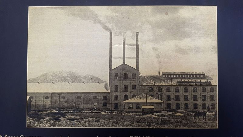 Mormon Sugar Beet Factory Site Marker image. Click for full size.