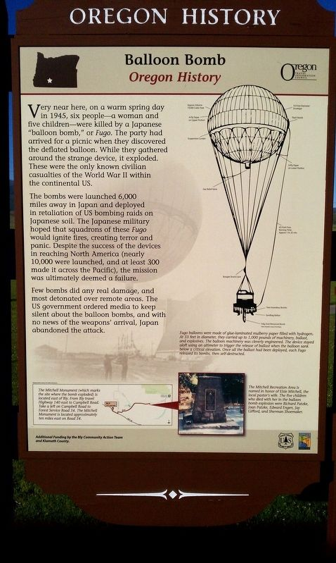 Balloon Bomb Marker image. Click for full size.