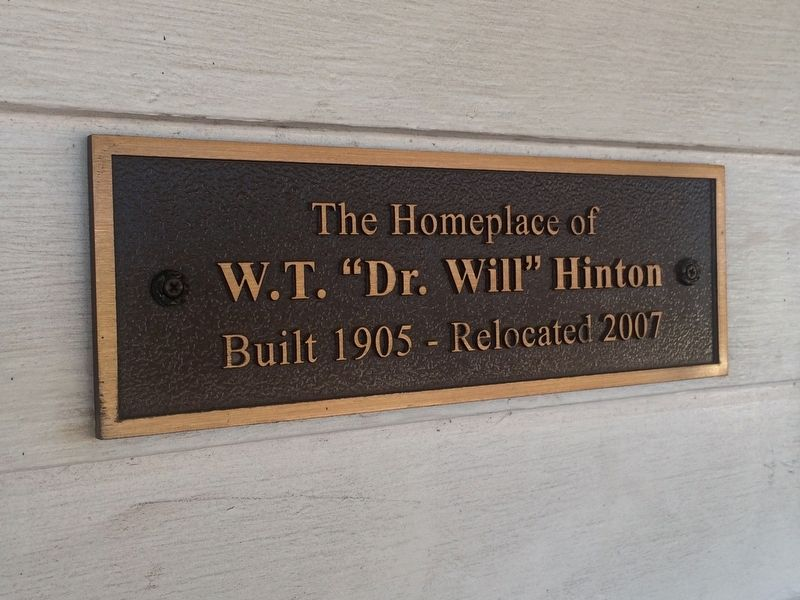 The Dr. William Hinton House Marker image. Click for full size.