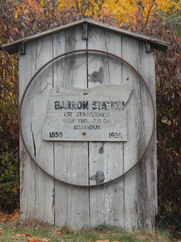 Barrow Station Marker image. Click for full size.