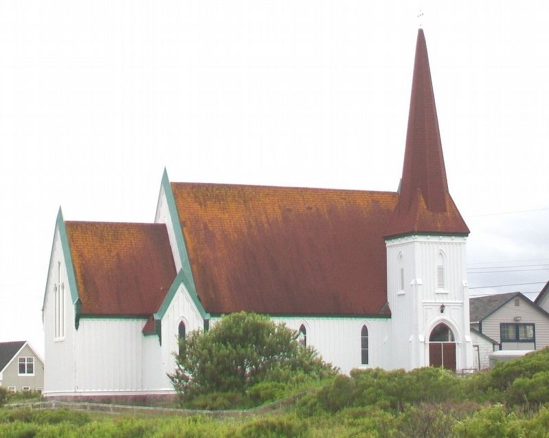 St. John's Anglican Church, Peggy's Cove image. Click for full size.