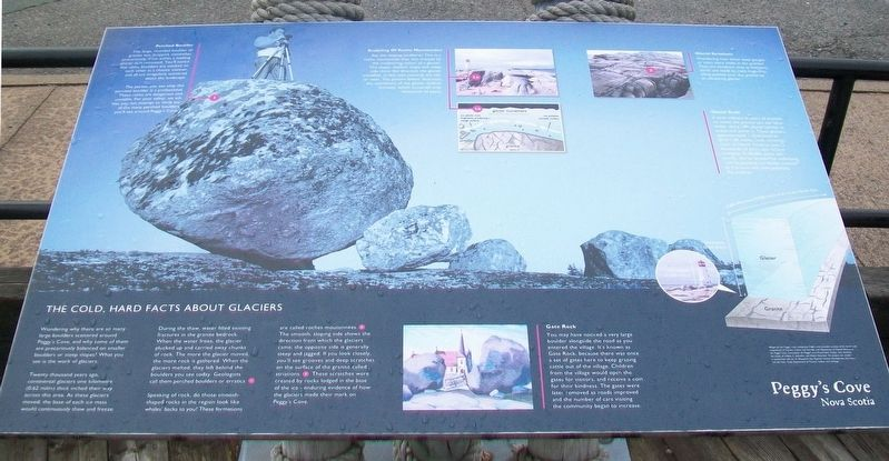 The Cold, Hard Facts About Glaciers Marker image. Click for full size.