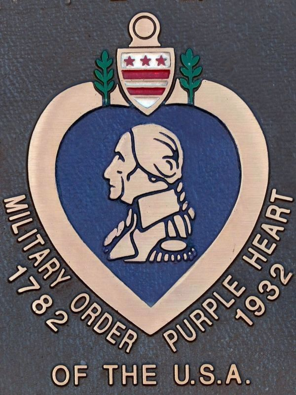 Military Order Purple Heart<br>of the U.S.A<br>1782 - 1932 image. Click for full size.
