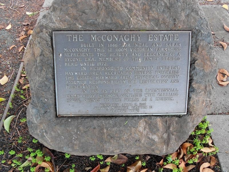 The McConaghy Estate Marker image. Click for full size.