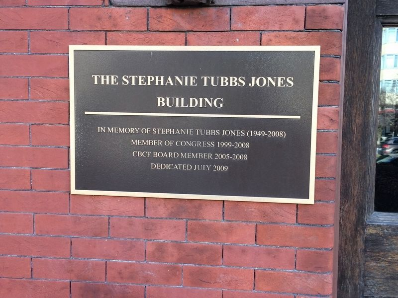 The Stephanie Tubbs Jones Building Marker image. Click for full size.