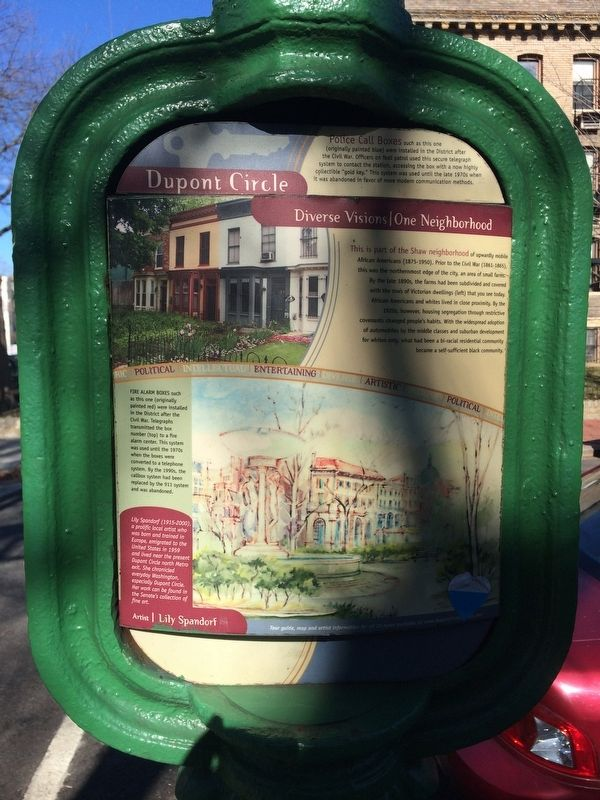 This is part of the Shaw neighborhood Marker image. Click for full size.