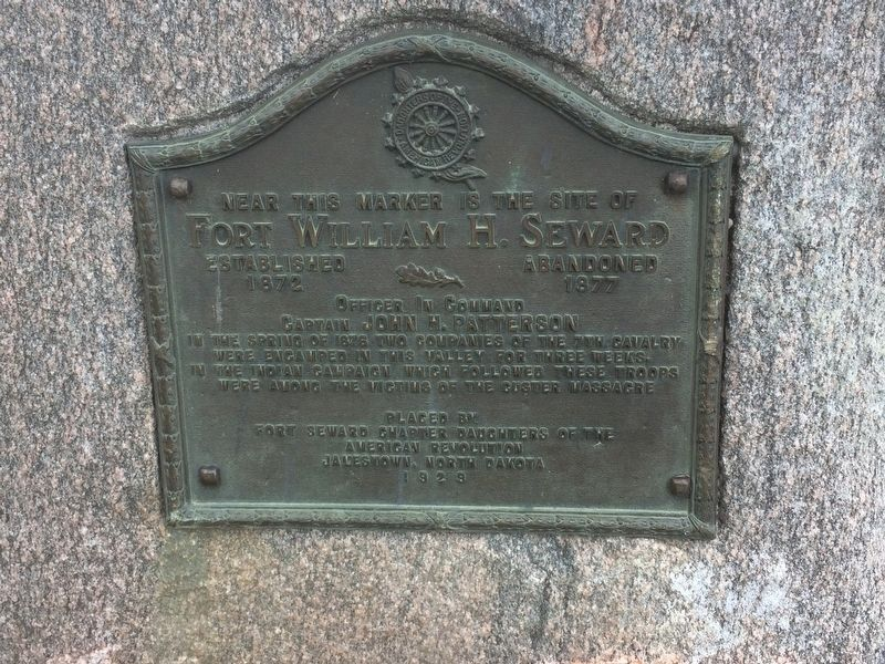 Fort William H. Seward Marker image. Click for full size.